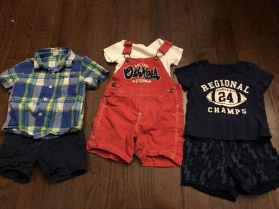 Lot of 18-month clothes.