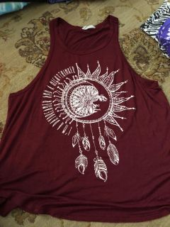 I m a day dreamer and a night thinker tank top