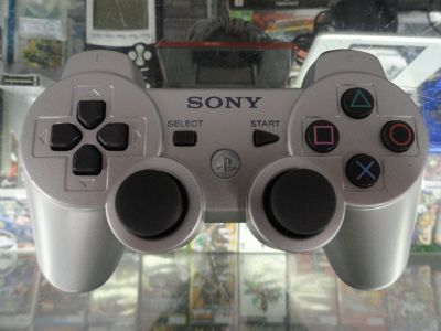 Sony Ps3 Wireless Controller (Silver)