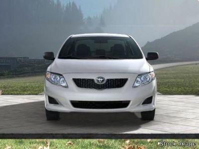 2010 Toyota Corolla Base (Classic Silver Metallic)