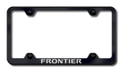 Buy Nissan Frontier Wide Body Laser Etched License Plate Frame-Black Made in USA Ge motorcycle in San Tan Valley, Arizona, US, for US $34.49