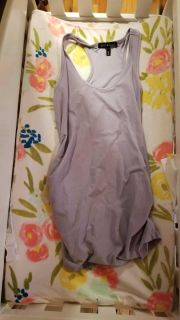 Maternity Top Grey Size Small