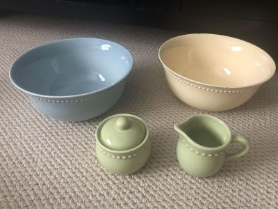Pottery Barn dishes