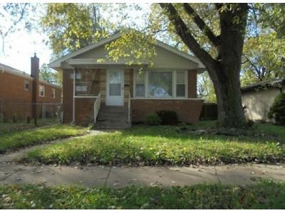 3 Bed 1.5 Bath Foreclosure Property in Dolton, IL 60419 - E 142nd St