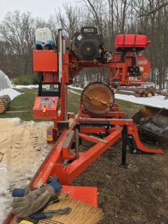 Wood-Mizer LT35HDG25 Hydraulic portable Sawmill