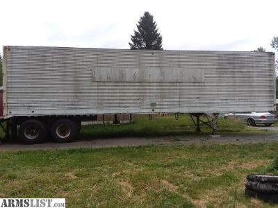 For Sale/Trade: 40' semi trailer dry van for storage/hay/ workshop
