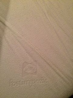 Used Sealy Posturepedic memory foam mattress
