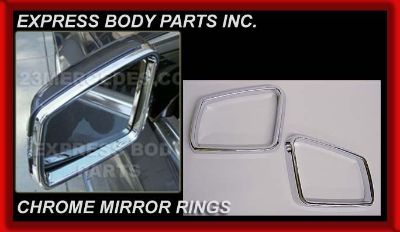 Sell MERCEDES W166 ML 12-14 ML350 SIDE CHROME MIRROR RINGS CAPS TRIM MIOLDING motorcycle in North Hollywood, California, US, for US $69.00
