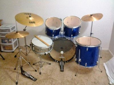 $300 OBO Percussion Plus 8 pc Drum Kit for Sale