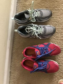 Nike and Rebook tenis shoes