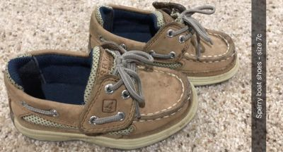 Sperry boat shoes size 7c