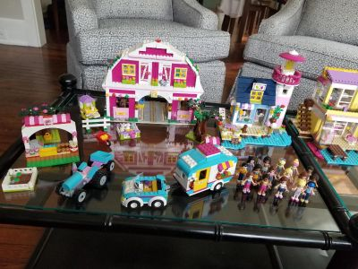 Lego Friends Sets with instruction booklets