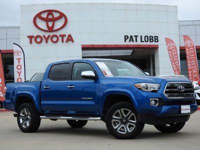2017 Toyota Tacoma Limited (blue)