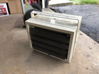 Dayton 220V electric garage heater