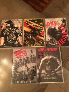 Sons of Anarchy DVD Set