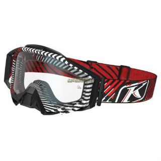 Purchase KLIM Radius Moto Goggle -Red motorcycle in Sauk Centre, Minnesota, United States, for US $89.99