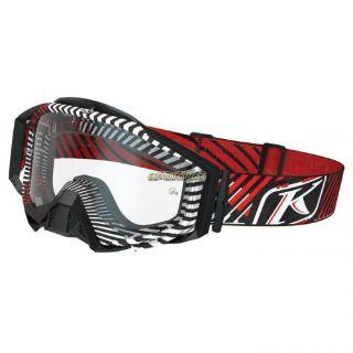 Purchase KLIM Radius Moto Goggle -Red motorcycle in Sauk Centre, Minnesota, United States, for US $89.99