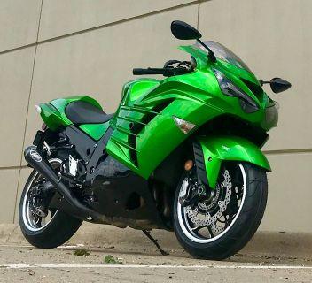 2013 Kawasaki Ninja ZX -14R ABS SuperSport Motorcycles Plano, TX