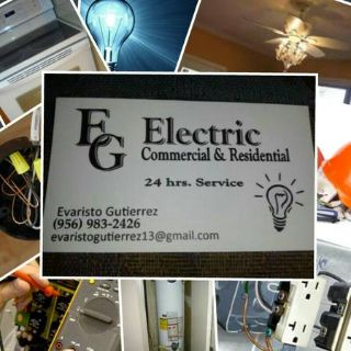 E.G. ELECTRIC ASU SERVICIO 24 hrs. (brownsville tx)