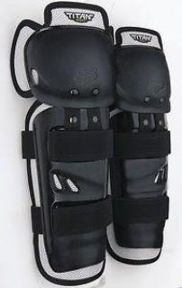 Find Fox Racing Titan Sport 2014 Youth Knee/Shin Guards Black motorcycle in Holland, Michigan, US, for US $23.93