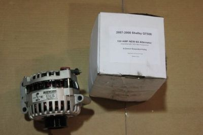 Purchase 2007-2009 Ford Mustang Shelby GT500 High Performance Alternator 130AMP MAX motorcycle in Las Vegas, Nevada, United States