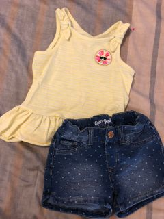 Cat & Jack outfit, 3T