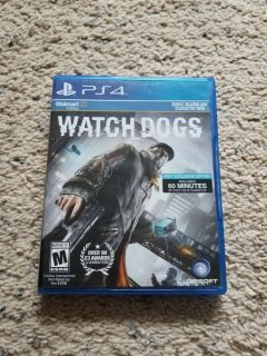 PS4 Watch Dogs Game