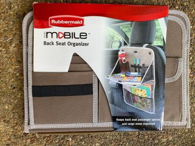NEW RUBBERMAID BACK SEAT ORGANIZER