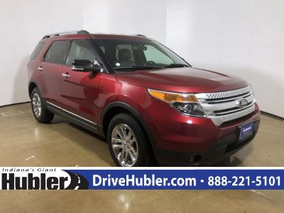 2014 Ford Explorer XLT (Ruby Red Metallic Tinted Clearcoat)