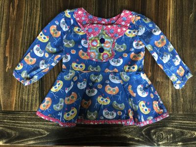 Jelly The Pug Top Size 5T