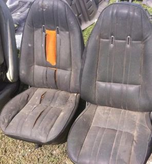 Purchase 1968-74 nova bucket seats with track motorcycle in Island Lake, Illinois, US, for US $450.00