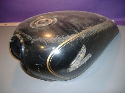Sell Honda CB650 gas fuel tank 17540-460-730 1980 black CB 650 blems motorcycle in Newtonville, Massachusetts, United States, for US $195.00