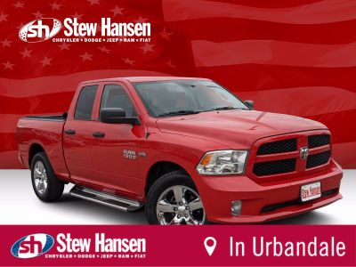 2018 RAM RSX Tradesman (Flame Red Clearcoat)