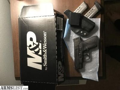 For Sale: M&P shield 9mm with custom holster