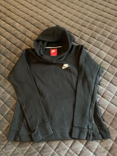 Nike hoody hooded cowl sweatshirt with thumb holes