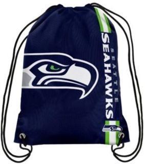 Seattle Seahawks Drawstring Backpack *** 2 Designs *** (NEW)