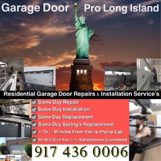 RELIABLE GARAGE DOOR REPAIR AND INSTALLATION SERVICE—NEW YORK AND LONG ISLAND