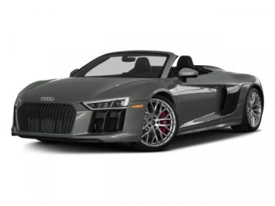 2018 Audi R8 SPYDER V10 plus (Suzuka Gray Metallic/Black Roof)
