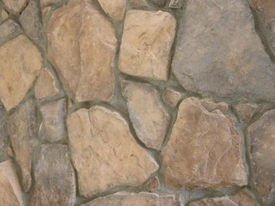 STONE VENEER SCULPTURED