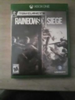 Rainbow six seige (xbox one)