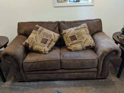 Oversized loveseat / couch