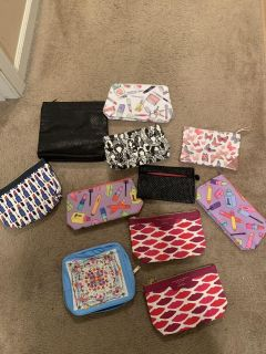 New unused cosmetic bags. Price is for each