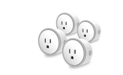 Brand New 4pcs elf smart plug by eques no hub required compatible with alexa & google home