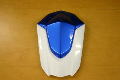 Find OEM Suzuki GSXR 600 750 2008-2009 Blue & White Rear Seat Cowl Fairing Solo Seat motorcycle in Indianapolis, Indiana, US, for US $45.99