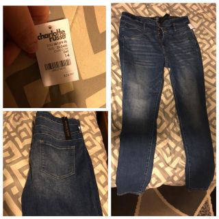 High wasted skinny jeans from Charlotte Russe