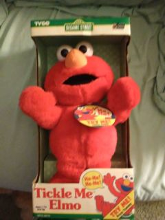 First Edition Tickle me Elmo still in box