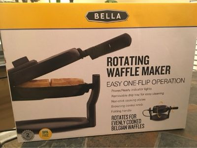 New Unopened Bella Waffle Maker