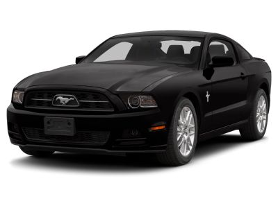 2014 Ford Mustang V6 (Ingot Silver Metallic)