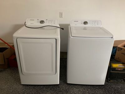 Brand New Samsung Washer & Gas Dryer $1000