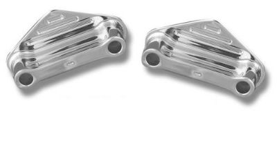 "Purchase Front 3/4"" Fender Spacers 41mm by Accutronix Chrome Harley Softail Heritage USA motorcycle in Harleysville, Pennsylvania, United States, for US $49.50"